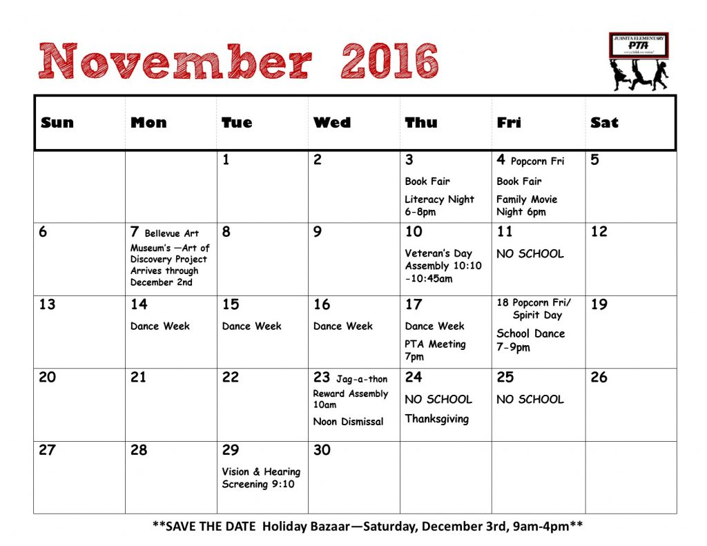 calendar-for-bulletin-board-november-2016