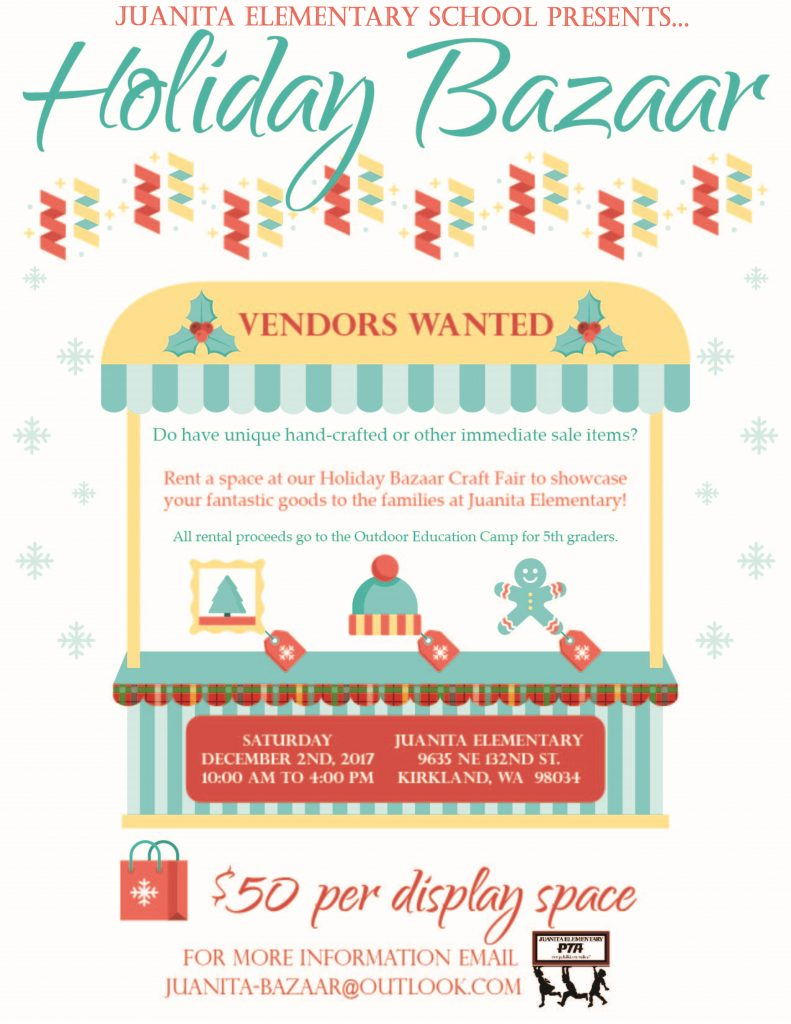 vendor application 2017 holiday bazaar guidelines 2017